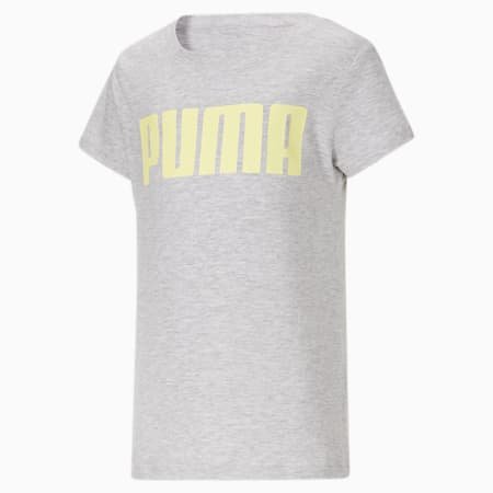 Camiseta estampada JR, LIGHT HEATHER GREY, pequeño