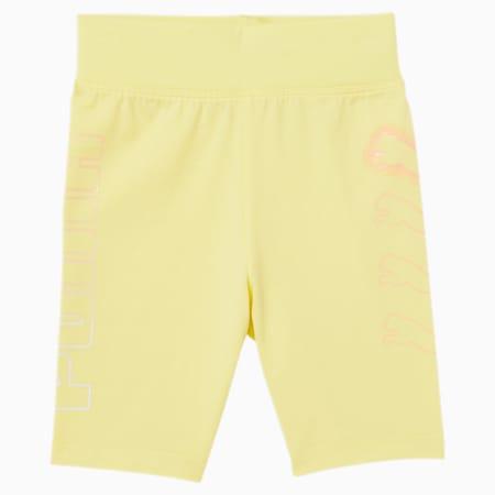 Shorts de ciclista para niño pequeño, YELLOW PEAR, pequeño