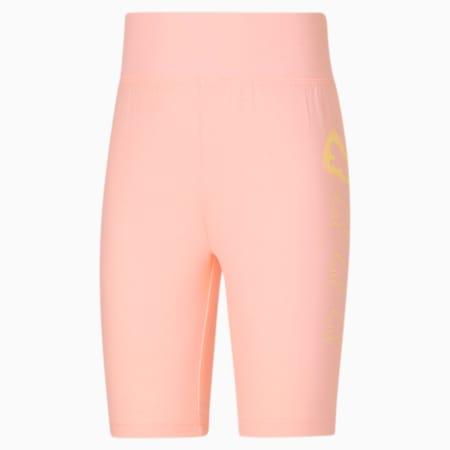 Shorts de ciclista JR, ELEKTRO PEACH, pequeño