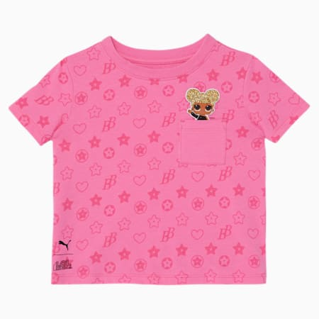 PUMA x L.O.L. SURPRISE! Toddler Fashion Tee, SACHET PINK, small