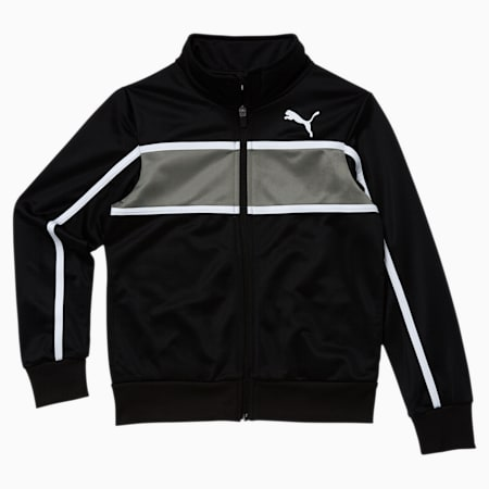 Collective Boys' Track Jacket JR, PUMA BLACK, small