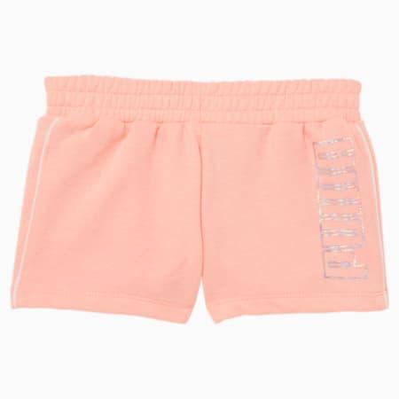 Shorts con logo Nº 1 para niñas pequeñas, ELEKTRO PEACH, pequeño