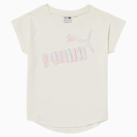 T-shirt à logo n° 1, jeune enfant, GUIMAUVE, petit