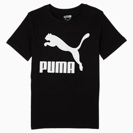 Camiseta estampada MCS para niños pequeños, PUMA BLACK, pequeño