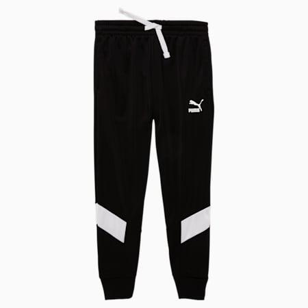 Pantalones MCS para correr para niño, PUMA BLACK, pequeño