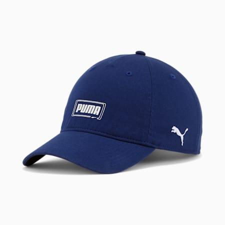 Casquette ajustable à coupe décontractée Nexus, Bleu moyen, petit