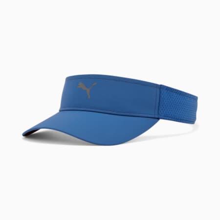 Visière ajustable Racket, Bleu, petit