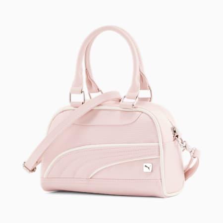 Mini sac à bandoulière et anses, femme, Rose pastel clair, petit