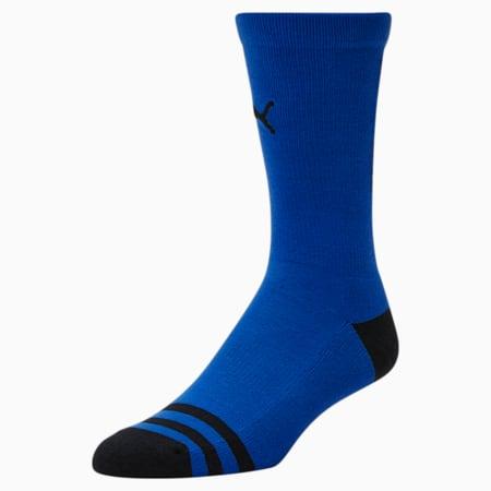 Calcetines deportivos de básquetbolpara hombre[paquete de 1], AZUL, pequeño