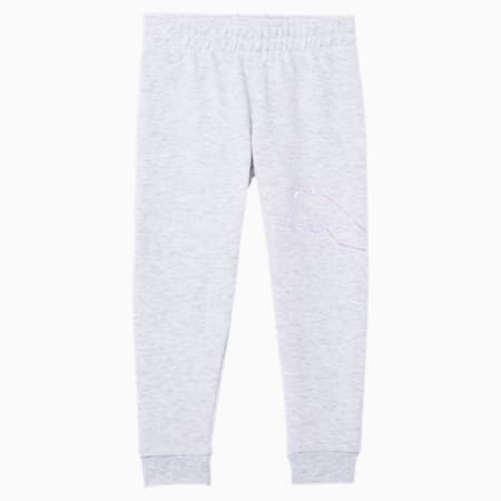 Essentials Little Kids' Fleece Joggers, WHITE HEATHER, small