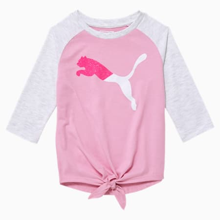 Modern Sports Little Kids' 3/4 Sleeve Fashion Top, PALE PINK, small