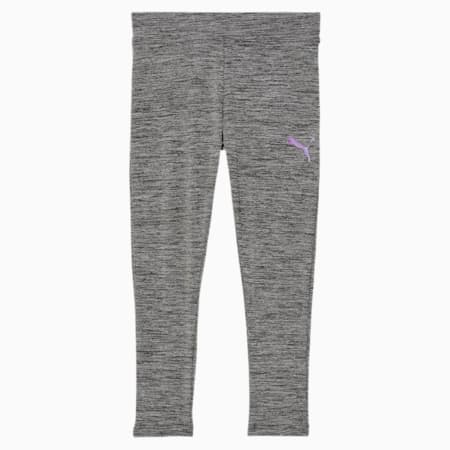 Essentials Little Kids' Space Dyed Leggings, CASTLERROCK HEATHER, small
