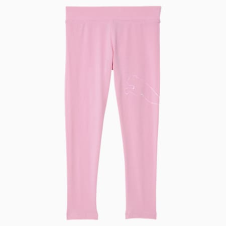 Essentials Little Kids' Leggings, PALE PINK, small