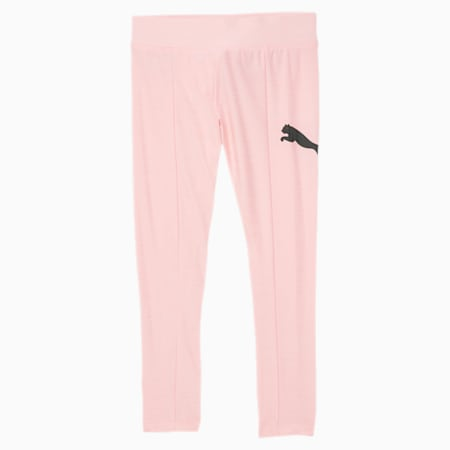 Big Cat Little Kids' Space Dyed Leggings, CRYSTAL ROSE HEATHER, small