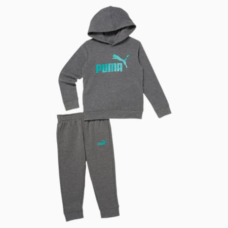 Hoodie + Jogger Little Kids' Set, CHARCOAL HEATHER, small