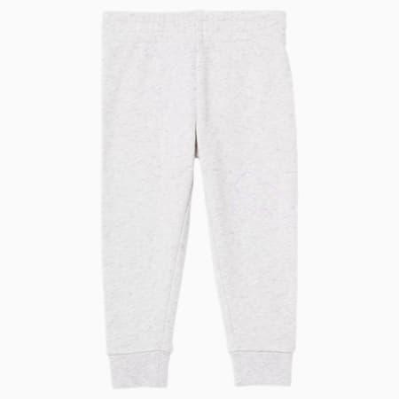 Pantalones deportivos de polar de algodón Core para bebés, WHITE HEATHER, pequeño