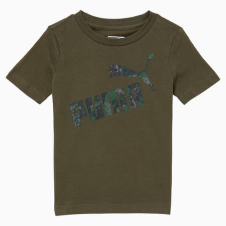 T-shirt graphique camouflage, tout-petit, FEUILLE DE VIGNE, petit