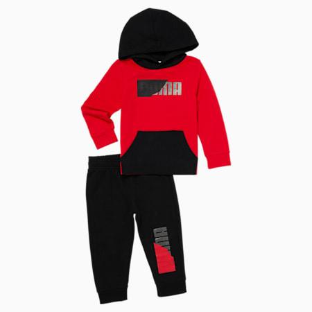 Equipo deportivo y sudadera con capucha para bebé, HIGH RISK RED, pequeño
