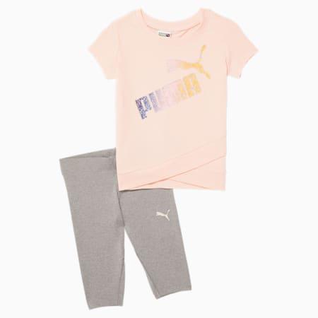 Conjunto de leggings y camiseta para bebés, CLOUD PINK, pequeño