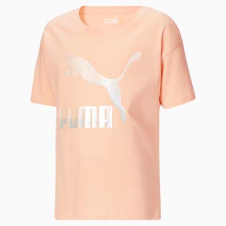 T-shirt graphique Gloaming, fille, enfant, PARFAIT AUX PÊCHES, petit