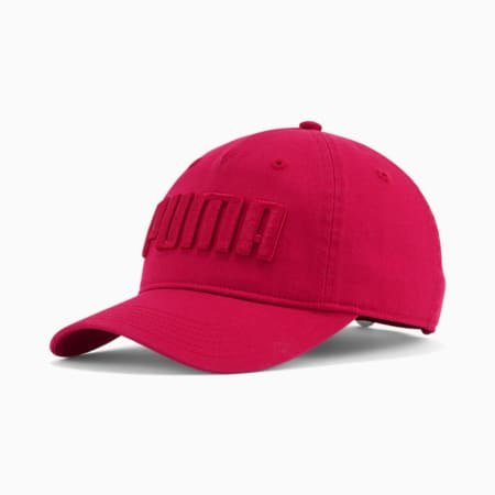 Gorra ajustable PUMA Eleanor para mujer, Rojo oscuro, pequeño