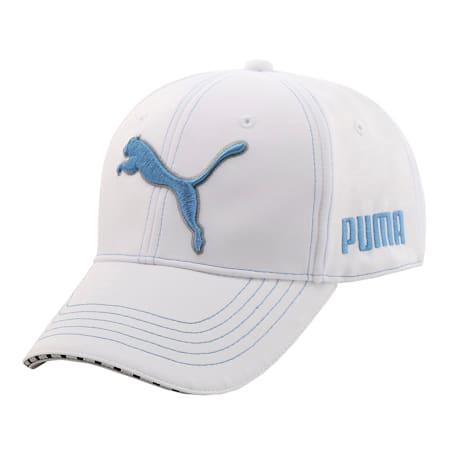 ゴルフ ツアー キャップ, Bright White / Blue Azur, small-JPN