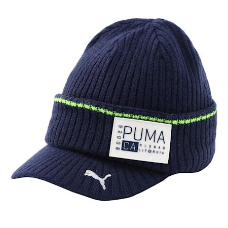 ゴルフ CA ブリム ビーニー, Peacoat, small-JPN
