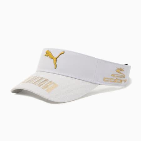 ゴルフ ツアー バイザー, Bright White, small-JPN