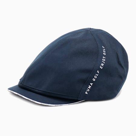 ゴルフ ツイルハンチング キャップ, NAVY BLAZER, small-JPN