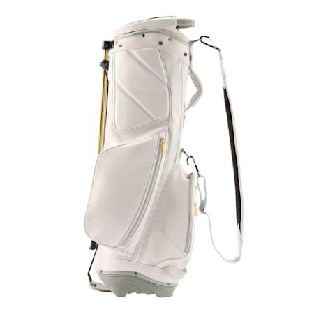 ゴルフ キャディバッグ ヘリテージ, Bright White / Gold, small-JPN