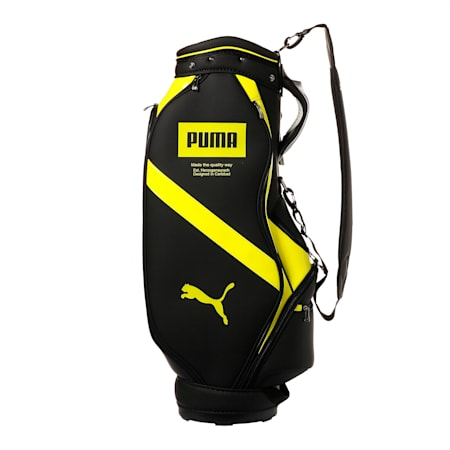 ゴルフ キャディバッグ コア, Puma Black/Sunny Lime, small-JPN