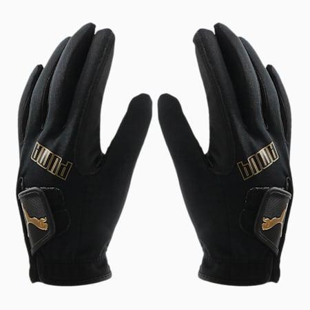ゴルフ 3D ウィンター グローブ 両手用, Puma Black - Goldr, small-JPN