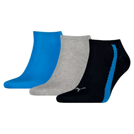 スニーカー ソックス(3足組), navy-grey-strong blue, small-JPN