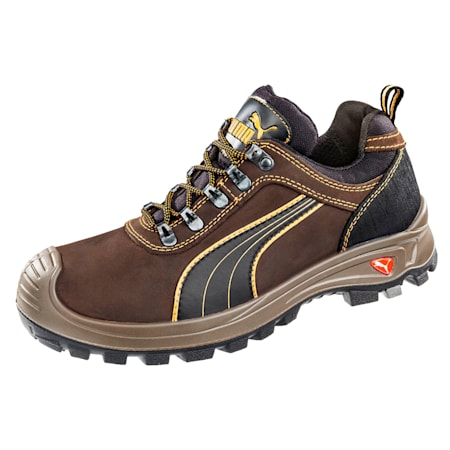Sierra Nevada Low S3 HRO SRC Safety Shoes, brown, small