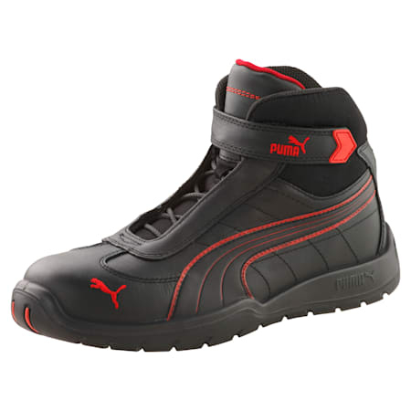 S3 HRO Moto Protect Safety Shoes, black-red, small