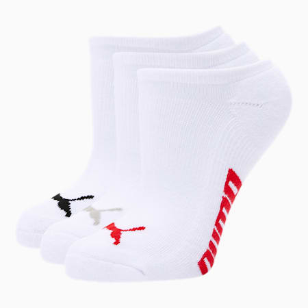 Calcetines tobilleras para mujer (paquete de 3), AZUL / NEGRO, pequeño