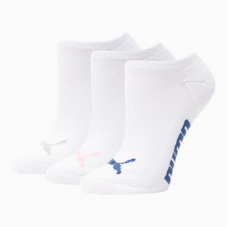 Chaussettes invisibles, femme (paquet de 3), ROSE / MULTI, petit