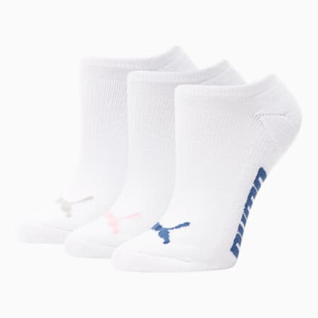 Calcetines tobilleras para mujer (paquete de 3), ROSA / MULTI, pequeño