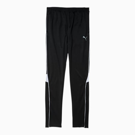Boys' Soccer Pants JR, PUMA BLACK/WHITE, small