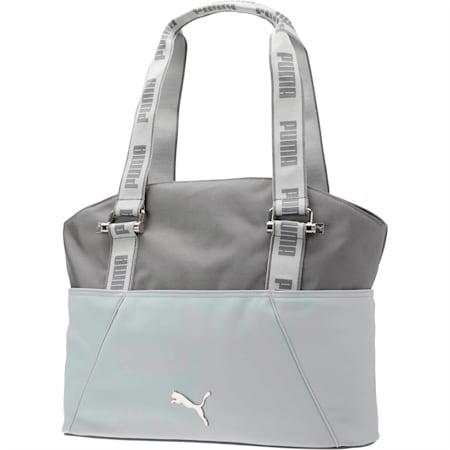 Marnie Tote Bag, Grey/Grey, small