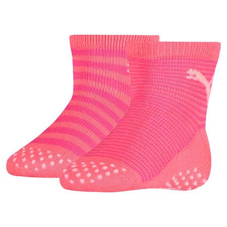 Baby Anti-Rutsch Socken 2er Pack, violet purple combo, small