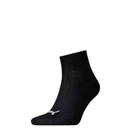 Basic Trainers Quarter Socks 1 Pack, black, small-SEA