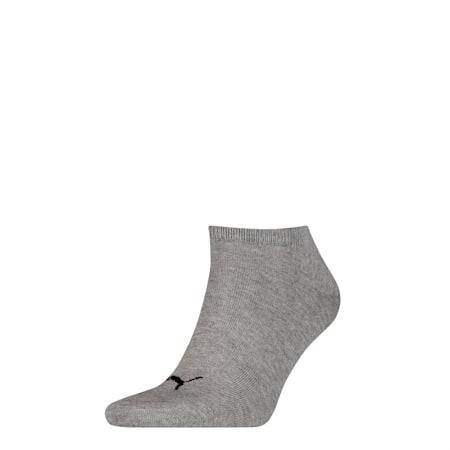 Basic Trainers Socks 1 Pack, mid grey melange / black, small-SEA