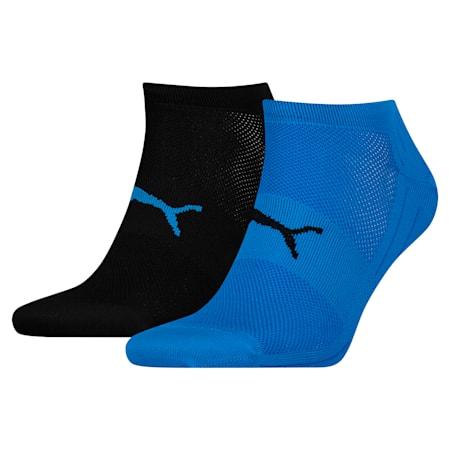 Performance Train Light Socks 2 Pack, blue / black, small