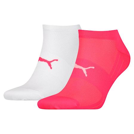 Confezione da 2 paia di calzini Performance Train Light, pink / white, small