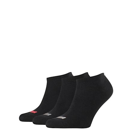 Basic Trainers Socks 3 Pack, black, small-SEA