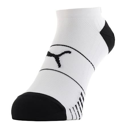 パフォーマンス トレイン ライト スニーカー ソックス1足組, white / black, small-JPN