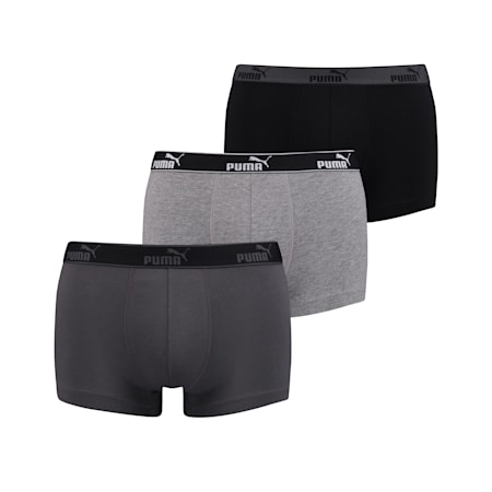Men's Basic Boxer 3 Pack, asphalt, small-SEA