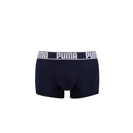 Men's Active Trunk 1 Pack, navy / white, small-SEA
