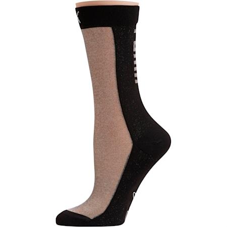 PUMA x SG Transparent Front Crew Socks (1 Pack), black, small-SEA